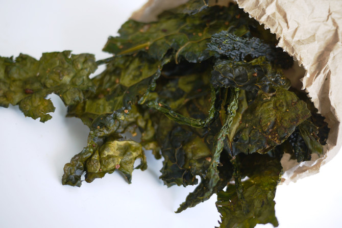 Asian Spiced Kale Chips