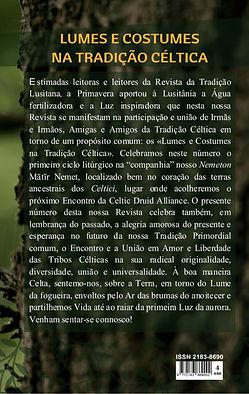 Contracapa da Revista da Tradição Lvsitana nº 4