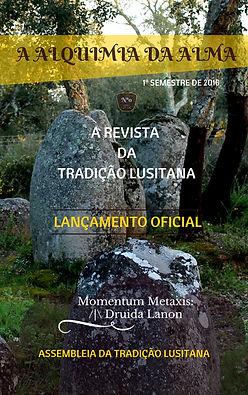 Capa da edição inaugural da Revista da Tradição Lvsitana