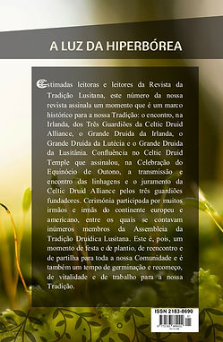 Contracapa da Revista da Tradição Lvsitana nº 1