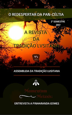 Capa da Revista da Tradição Lvsitana nº 3