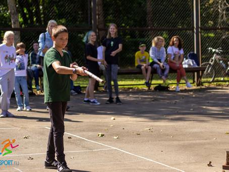 Соревнования по городошному спорту