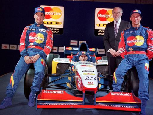 【慘遭陷害】現代F1最短命車隊-MasterCard Lola|參賽一場即壽終正寢|金主再一次玩殘F1車隊