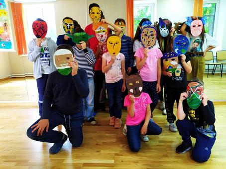 Мастер-класс по изготовлению масок