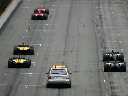 【一場鬧劇】F1史上最尷尬一幕!只有6部車的比賽-2005 US Grand Prix|為何Michelin會在這場出事?