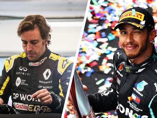 Alonso訓練時遇交通意外幸無大礙|Hamilton終於簽約但只簽一年|F1凍結引擎發展至2025年 Red Bull買下Honda引擎IP