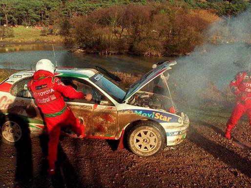 【這麼近那麼遠】與世界冠軍距離300米|WRC最戲劇性時刻|1998 WRC Sainz VS Makinen