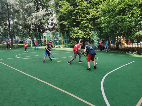 Детский турнир по флорболу