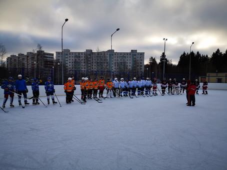 Турнир по хоккею среди команд района Савелки