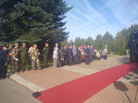 Захоронение останков ст.лейтенанта Н.И.Смирнова