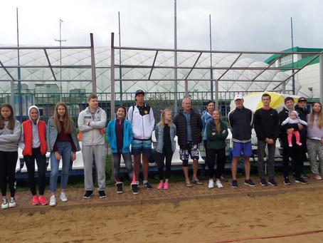Турнир по пляжному волейболу среди жителей района Савелки