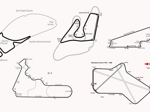 【滄海桑田】5條面目全非的F1賽道 由超高速賽道變成低速短賽道?銀石原本只有8個彎?
