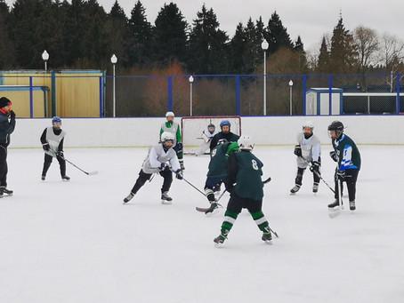 Детский турнир по хоккею среди команд района Савелки