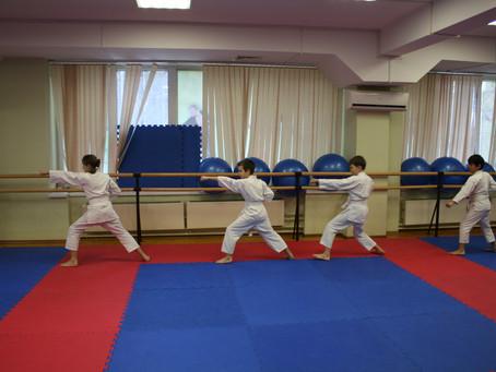 Соревнования по карате. Сдача нормативов