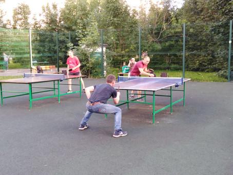 Турнир по настольному теннису среди жителей района Савелки