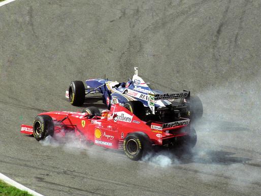 【車王黑歷史】史上最精彩最終戰|1997 F1 歐洲站回顧 Villeneuve VS Schumacher