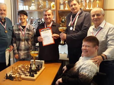 Турнир по шашкам и шахматам среди жителей района Савелки