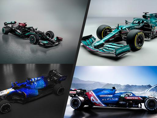 F1新車隊布黃金周!多支車隊發布新車,誰的新形象最好看?