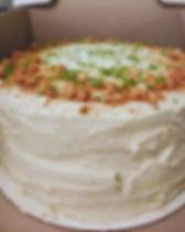 Key LimePie Cake