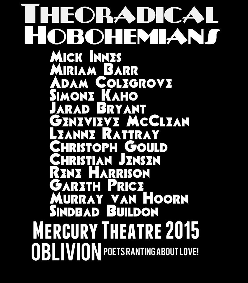 Theoradical Hobohemians Line up