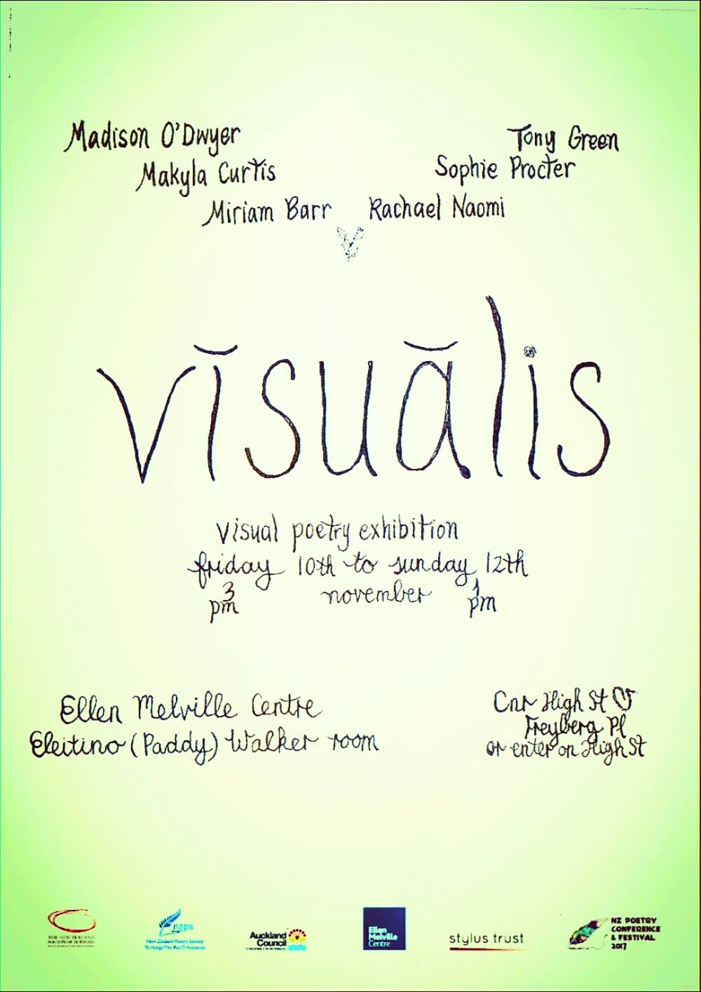 Visualis Hope Poster