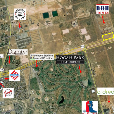 New development NE of Midland 2301 E Loop 250 N, Midland, TX 79705
