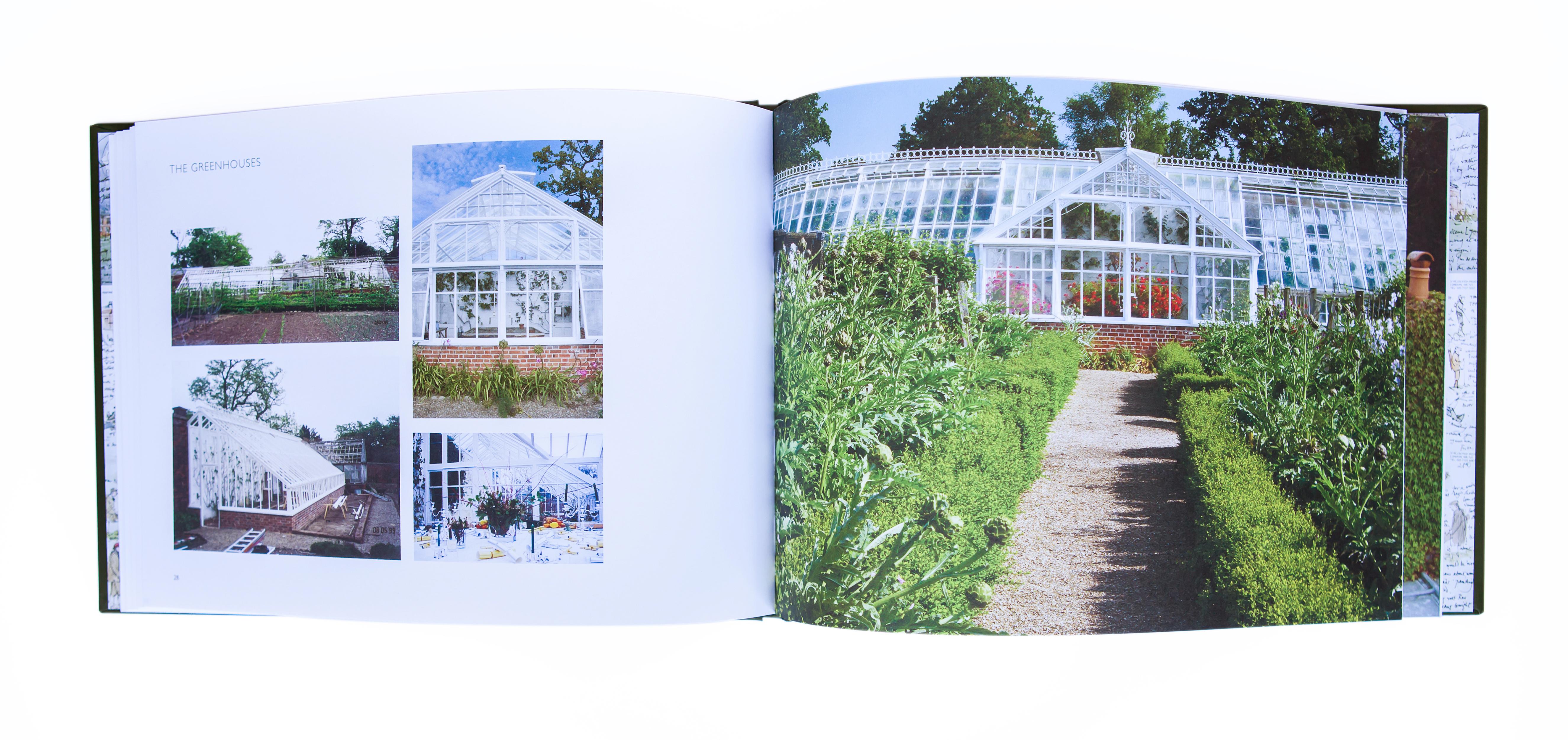 Raveningham Hall book inside
