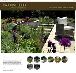 Caroline Boor website portfolio page