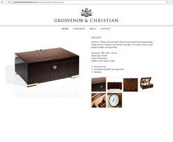 G&C website humador page