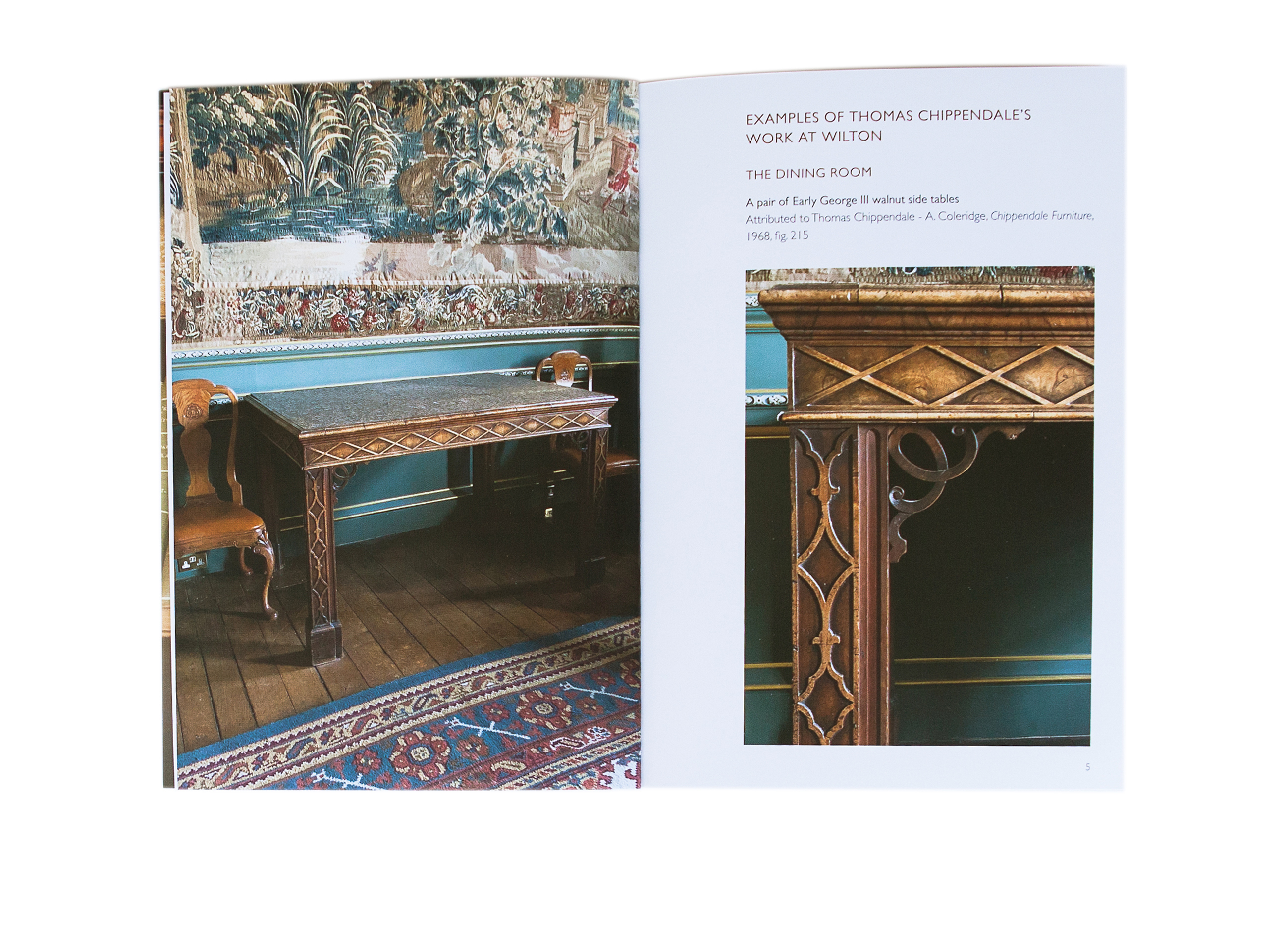 Wilton House Chippendale brochure