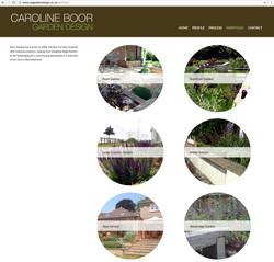 Caroline Boor website portfolio