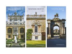Wilton House Opening leaflets