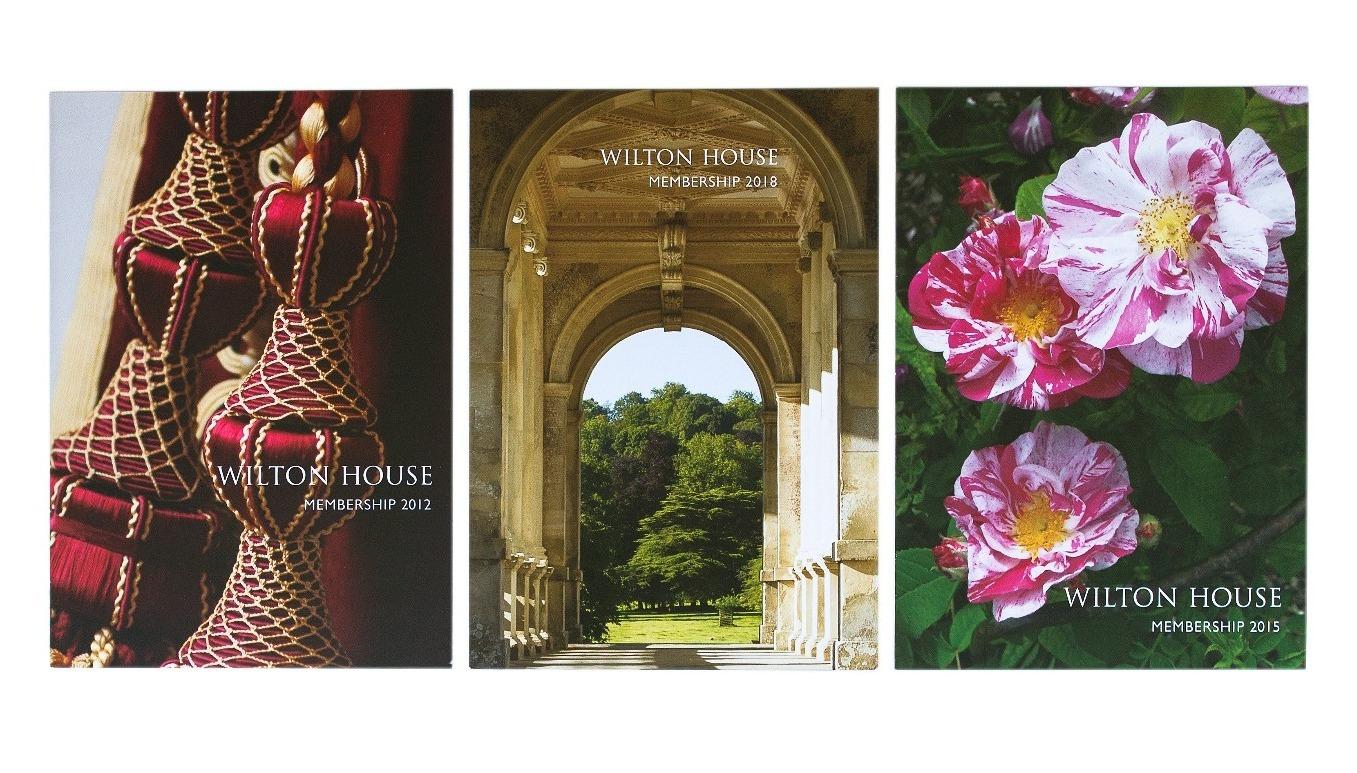 Wilton House Membership leaflets
