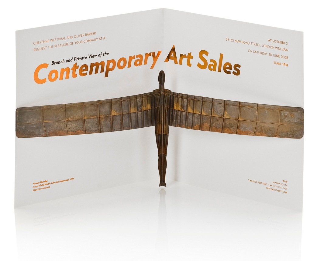 Sotheby's Contemporary invite
