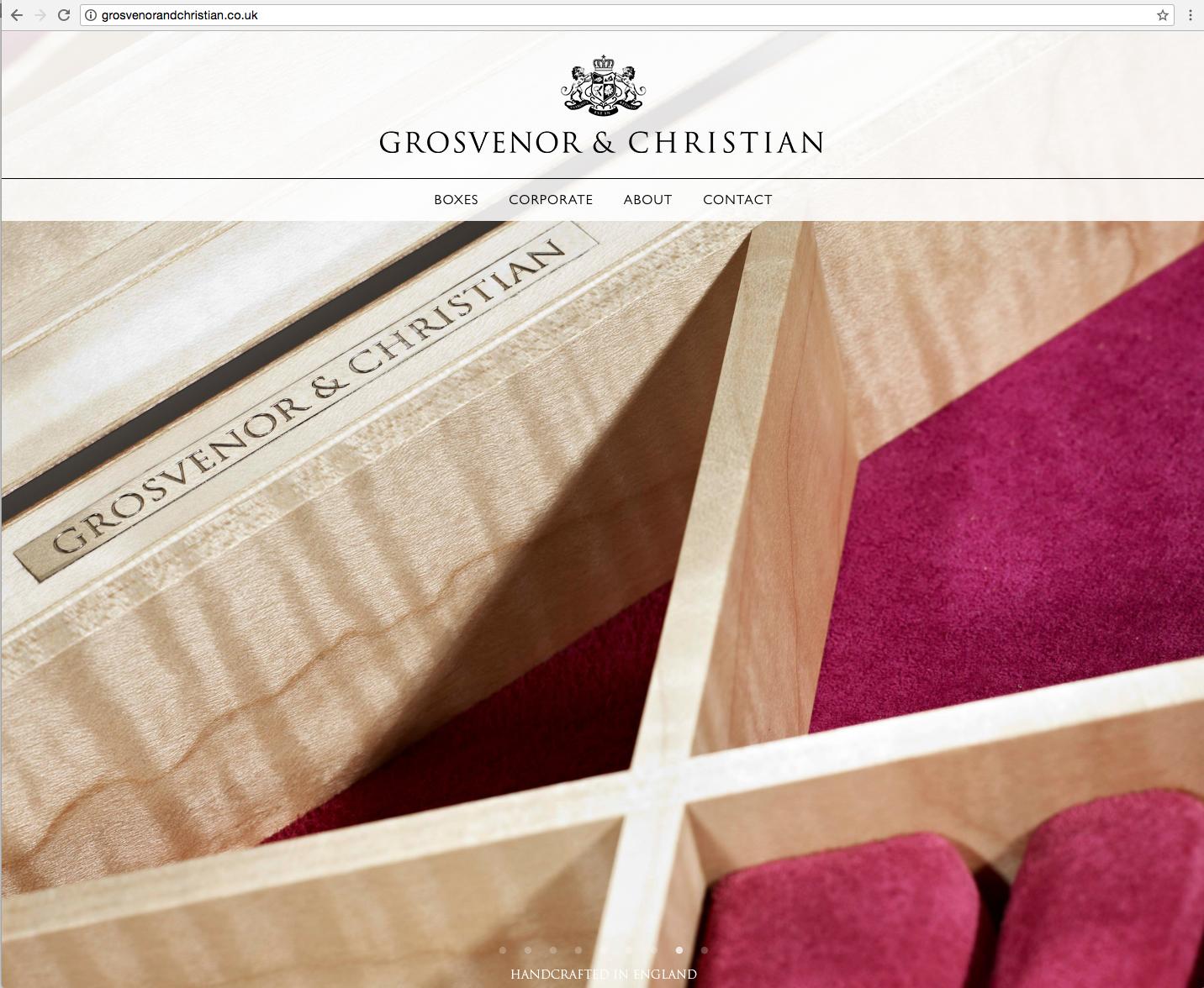G&C website home