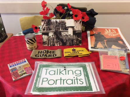 Marking Remembrance in the care homes