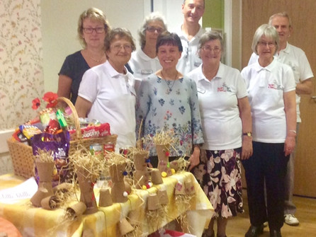 Celebrating Harvest in the care homes