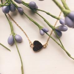 burgundy heart druzy necklace.jpg