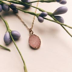 pink drop druzy necklace.jpg
