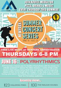 summer concert banner