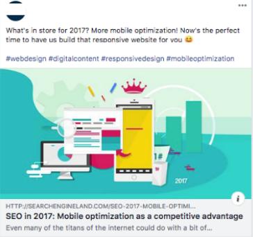 marketing client facebook