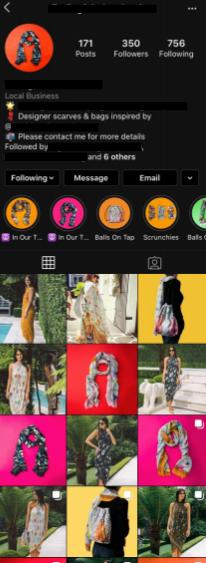 retail instagram