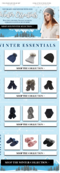 Winter Retail Email