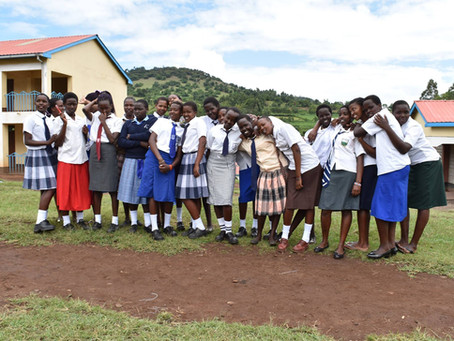Young graduates from Kakenya's Centre of Excellence look ahead to further tertiary education sup