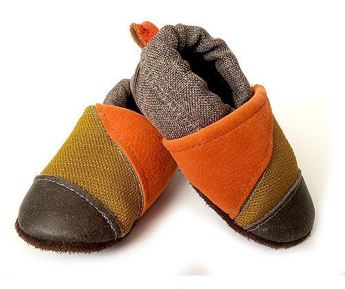 נעלי טרום הליכה צהוב כתום1