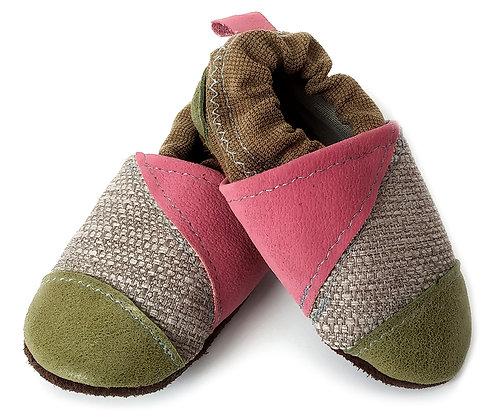 נעלי טרום הליכה ורוד ירוק