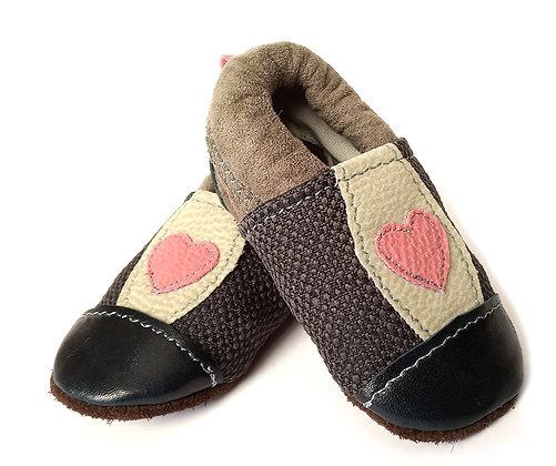 נעלי טרום הליכה לב ורוד