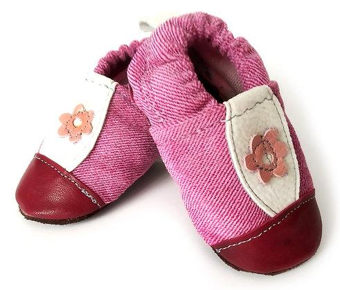 נעלי טרום הליכה ורודות