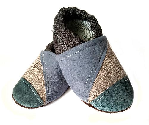 נעלי טרום הליכה כחול עם כחול 1