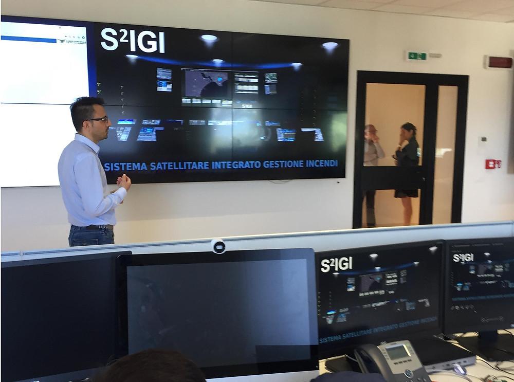 S2IGI – Sistema Satellitare Integrato Gestione Incendi